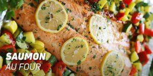 Saumon au four