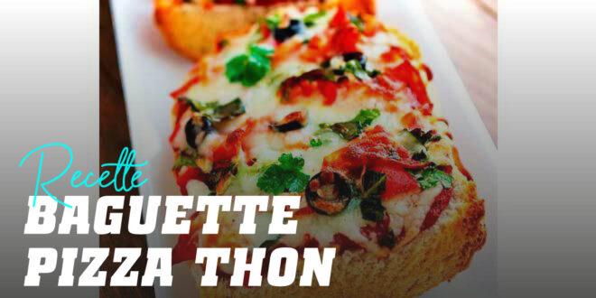 Baguette Pizza au Thon