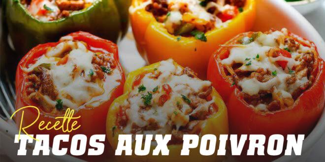 Tacos Mexicains aux Poivrons Grillés