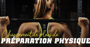 Changement de plans de préparation physique