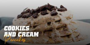 Cookies and Cream Pancake