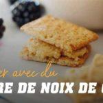 Crackers avec du Beurre de Noix de Cajou
