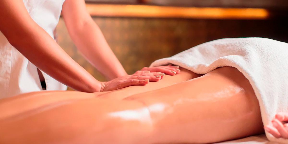 Massage pour éviter la peau d'orange