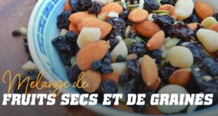 Melange de fruits secs et de graines