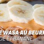 Pain Wasa au Beurre d'Amande et Banane