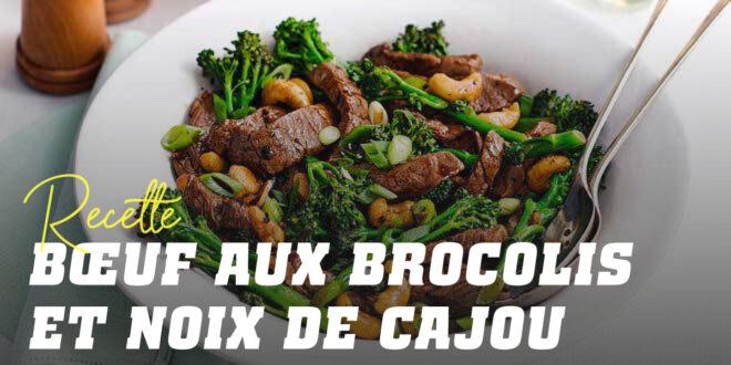Veau aux Brocolis et Noix de Cajou