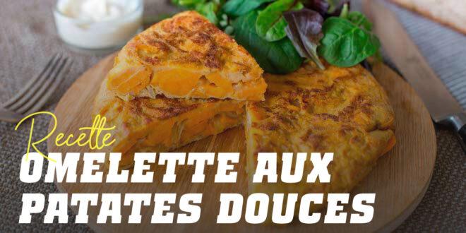 Omelette de Patates Douces