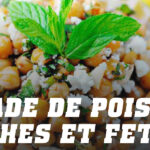 Recette salade de pois chiches et feta