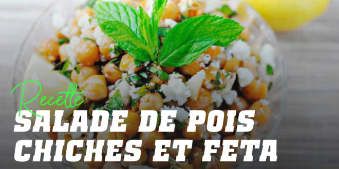 Salade de Pois Chiches au Fromage Feta