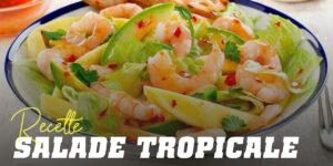 Recette salade tropicale