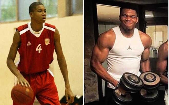Sessions de gymnase au basketball NBA