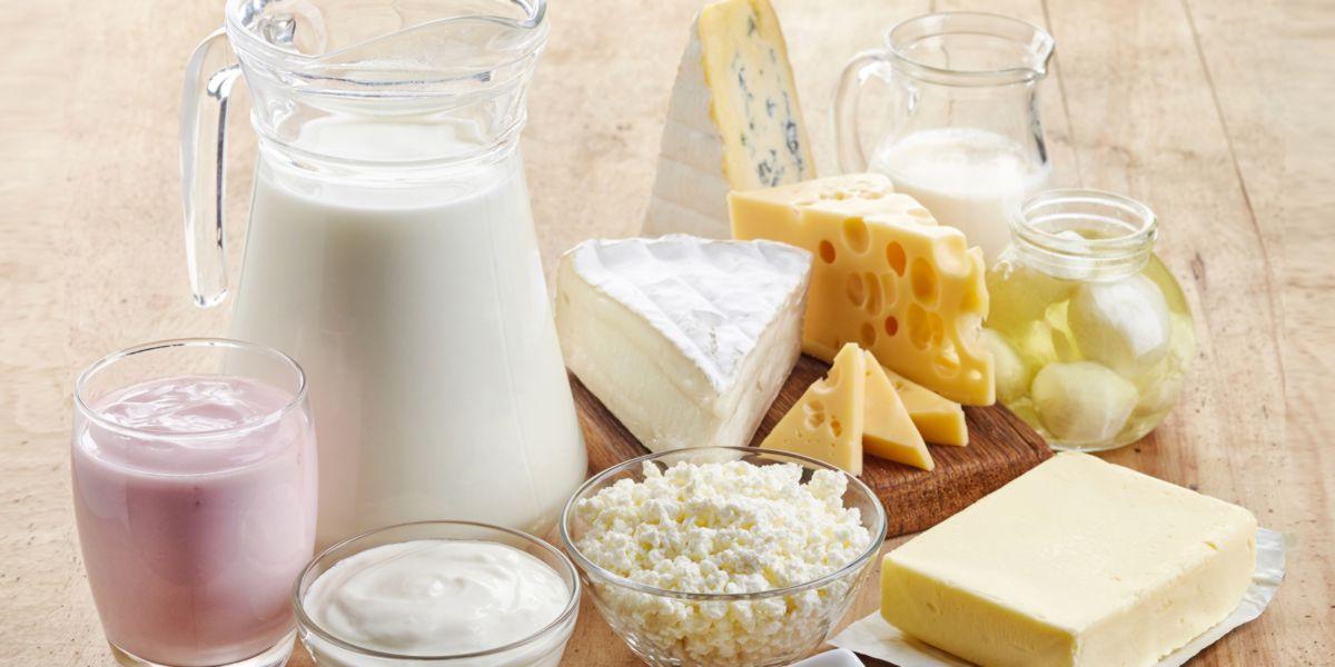 Aliments avec lactose