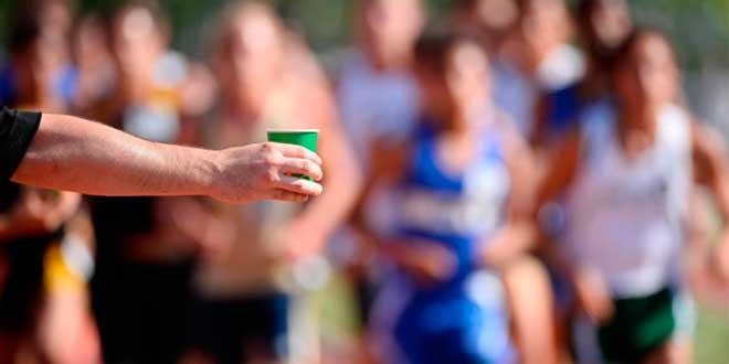 Boire après la course