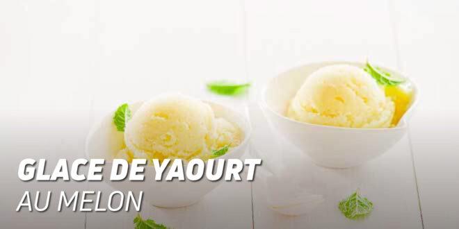 Glace de Yaourt au Melon