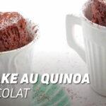 Mugcake au quinoa et chocolat