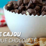 Noix de cajou protéique chocolaté