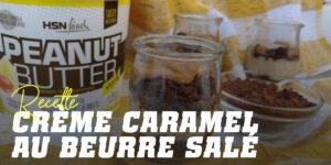 Recette crème au beurre salé