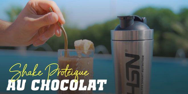 Smoothie Protéiné au Chocolat