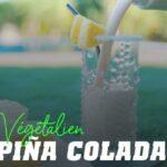Shake végétalien a la piña colada