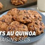 Biscuits au quinoa et aux raisins secs