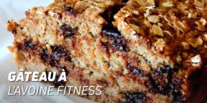 Gâteau à l'Avoine Fitness