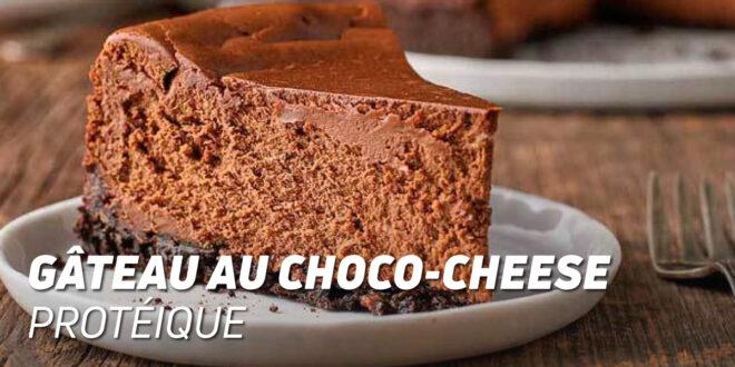 Gâteau au Choco-Cheese Protéique