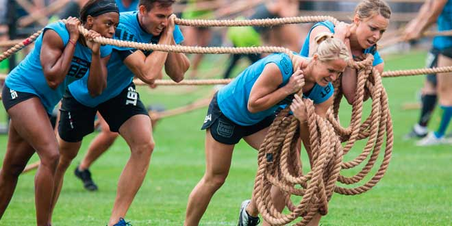 Participer à une compétition de CrossFit en équipes