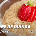Porridge de quinoa et Evowhey