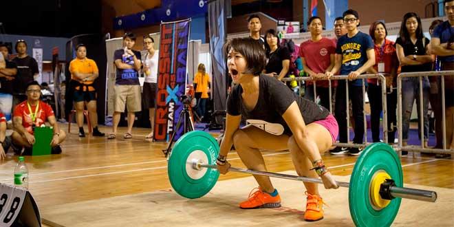 Première compétition de CrossFit