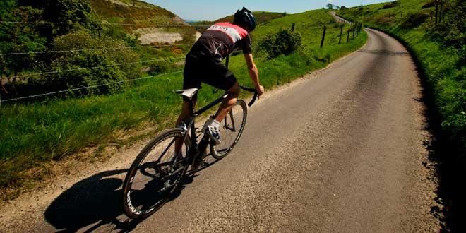 Route à vélo