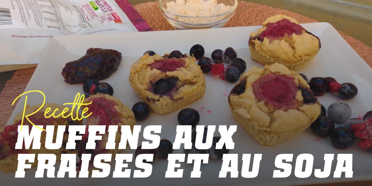Muffins aux Protéines de Soja