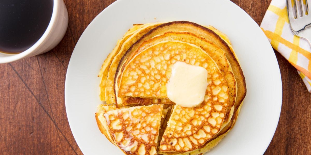 Pancake Keto avec de la farine d'amande
