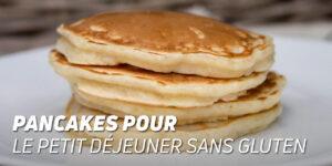 Pancakes pour le Petit-déjeuner Sans Gluten