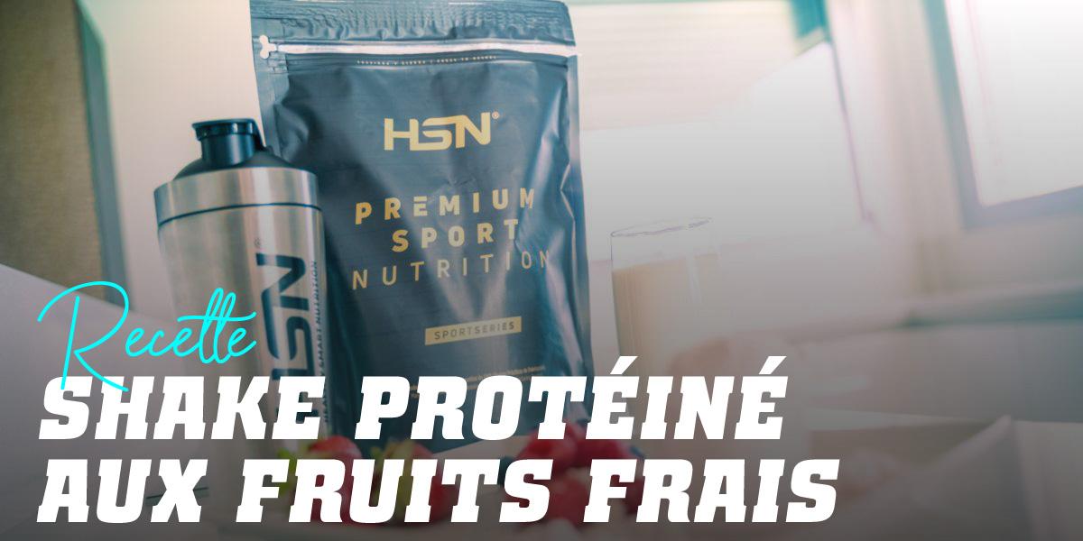 Shake Protéiné aux Fruits Frais