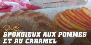 Spongieux aux pommes et au caramel