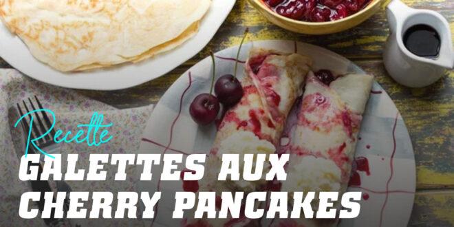 Crêpes à l'Avoine et Crêpes Claires 'Cherry Pancake'