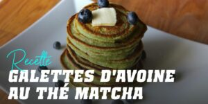 Pancakes à l'Avoine au Thé Matcha