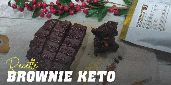 Brownie Keto : Chocolat et Farine d'Amandes mais Sans Sucre