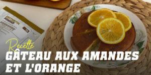Un gâteau fit d'Amande, Orange et Pistaches