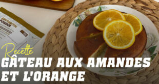 Un gâteau fit d'Amande, Orange et Pistaches