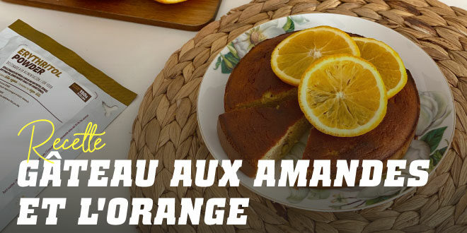 Gâteau aux Amandes, à l'Orange et aux Pistaches