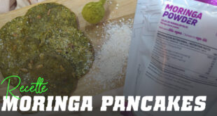 Pancakes au Moringa