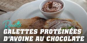 Pancakes d'Avoine Protéinées au Chocolat
