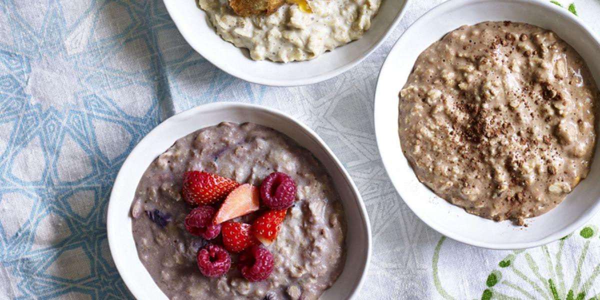 Petit-déjeuner du porridge