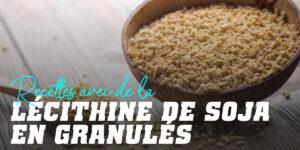 Utilisations de la Lécithine de Soja en cuisine