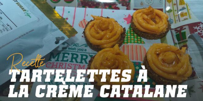 Tartelettes à la Crème Catalane, un Dessert Riche en Protéines