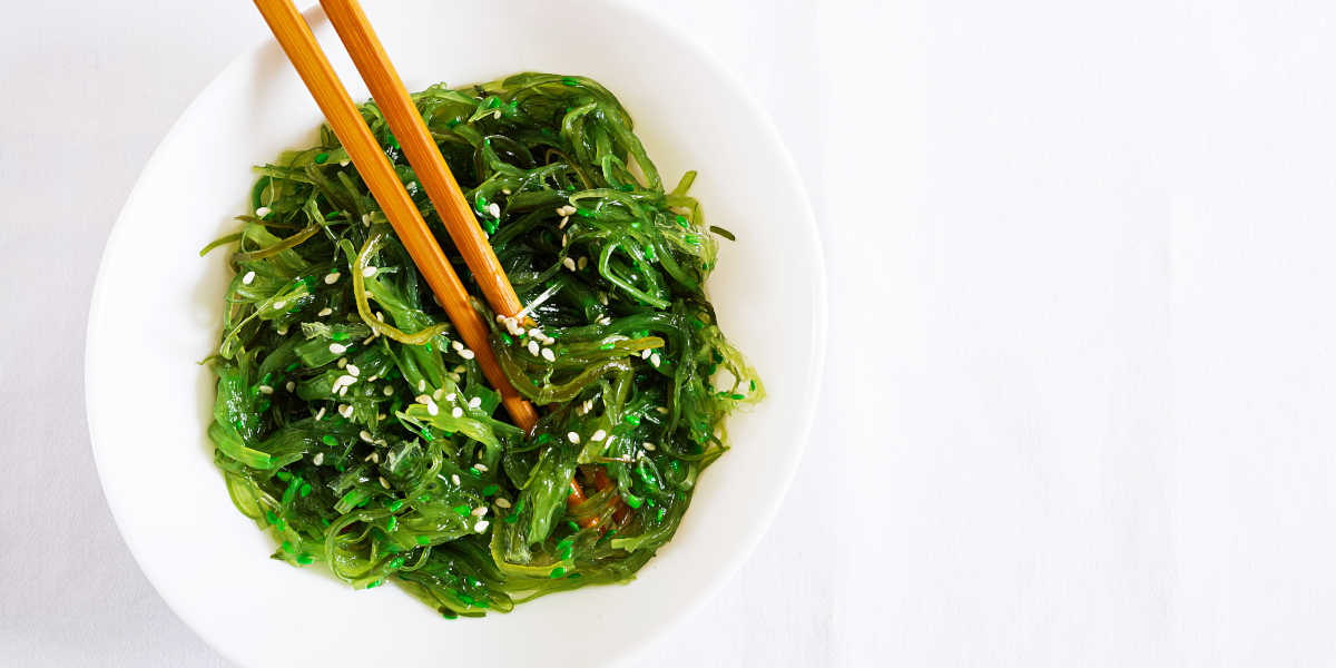 Wakame, algue riche en potassium