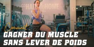 Exercices pour Développer des Muscles Sans Poids