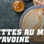 Pancakes d'Avoine au Miel et Noix de cajou