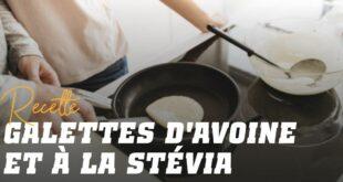 Pancakes d'Avoine avec Stévia